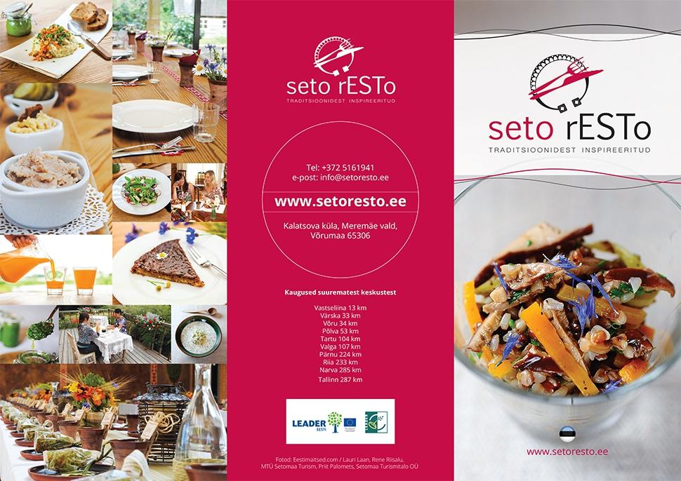 Seto Resto veeb ja trükised