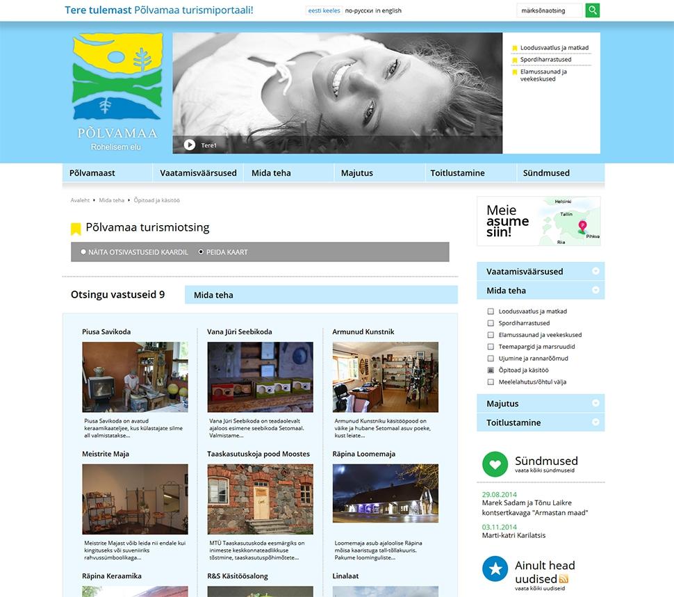 Põlvamaa - veebis ja trükises